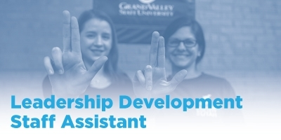Leadership Development Staff Assistant stock photo